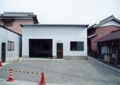 新築倉庫の板金工事