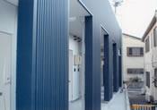 新築アパート外壁工事